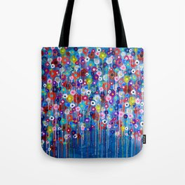 Happy Hour 3 floral Tote Bag