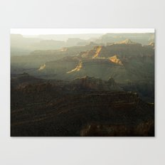 The Grand Canyon Sunset Canvas Print