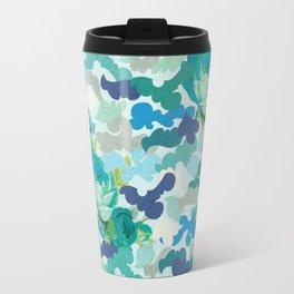 Camoflauge Roses Travel Mug