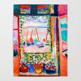 Henri Matisse Open Window Poster