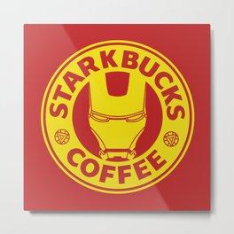 Star(K)bucks Coffee Metal Print