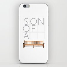 Son of a bench. iPhone & iPod Skin