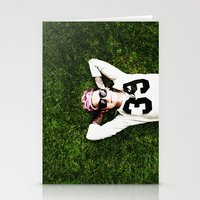 niall horan Stationery Cards featuring Niall Horan by Becca / But-Like-How