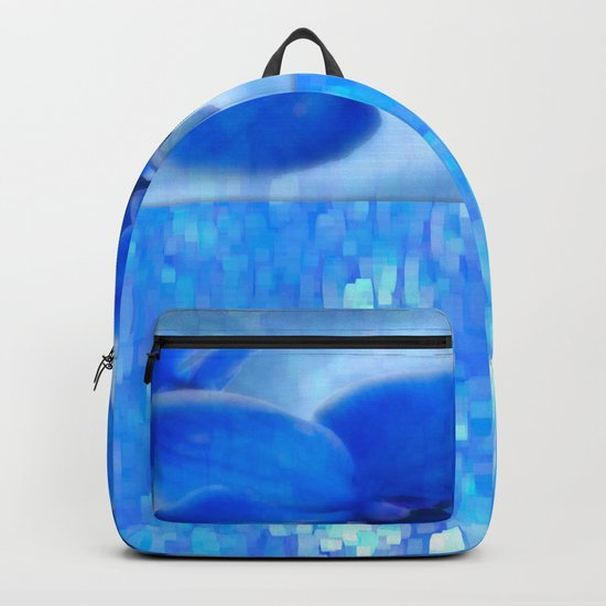 Blue Orchids Backpack