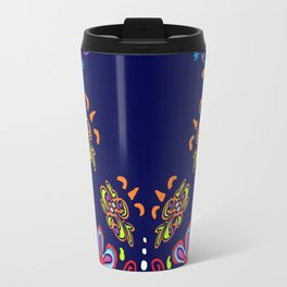 Dusky Florets Travel Mug