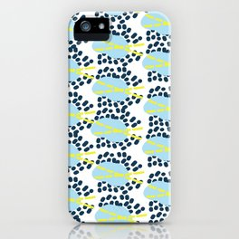 Leila - Abstract pattern, textile design  iPhone Case