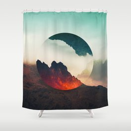 Second Sphere Shower Curtain