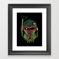 Monster Fett Framed Art Print