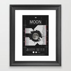 OMG SPACE: Moon 1950 - 1960 Framed Art Print