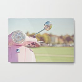 Cuter Scooter Metal Print