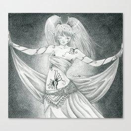 Ritual dancer Canvas Print
