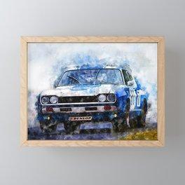 H. Stuck, Capri 2600RS -1972 Framed Mini Art Print