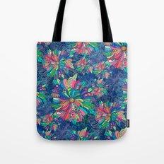 Flower Burst Tote Bag