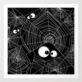 Spiderweb Art Print