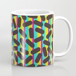 90's Pattern Retro Particles Coffee Mug