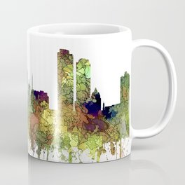 Milwaukee, Wisconson Skyline SG - Safari Buff Coffee Mug