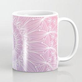 Floral mandala on pastel shades n.1 Coffee Mug