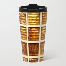 Thee Gold Tiles Travel Mug