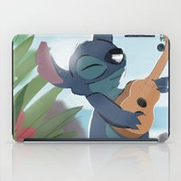 lilo and stitch iPad Cases featuring Stitch (Lilo & Stitch) by Bana Sakhnini
