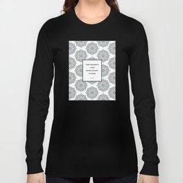 T.S. Eliot - The Waste Land - Shored Against My Ruins Long Sleeve T-shirt