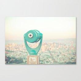 City Dreams Canvas Print