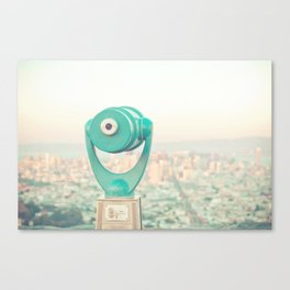 City Dreams Canvas Print