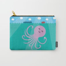 Octopus Selfie Carry-All Pouch
