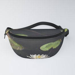 Water Lilies - Lilly Pad Flower Nature Photography Fanny Pack