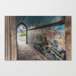 Graffiti Arch Canvas Print