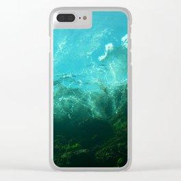Where the Merfolk Dwell Clear iPhone Case