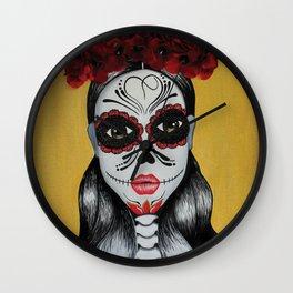 Tlazohtlaliztli (amor) Wall Clock