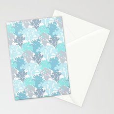 Acer Bouquets - Blues Stationery Cards