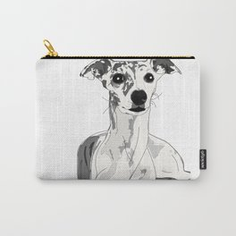Greyhound Family Dog Carry-All Pouch