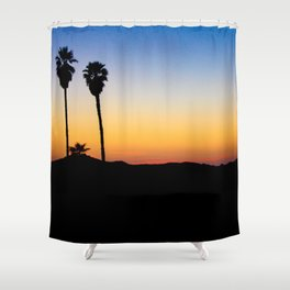 Hopped off the plane at LAX Shower Curtain