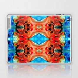 Magic Mirror - Abstract Art By Sharon Cummings Laptop & iPad Skin