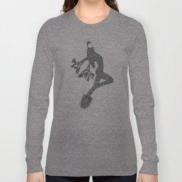 Quail Woman by CREYES of ArtFx Old Town Yucca Valley Long Sleeve T-shirt