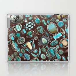 Vintage Navajo Turquoise stones Laptop & iPad Skin