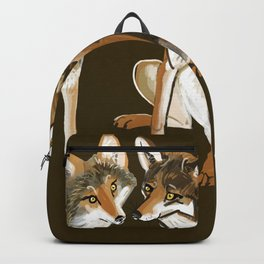 Coyotes in love Backpack