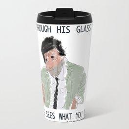 columbo never forgets Travel Mug