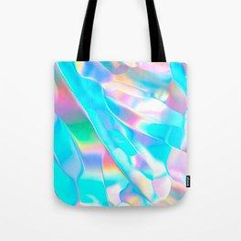 Blue Opal Iridescent  Tote Bag