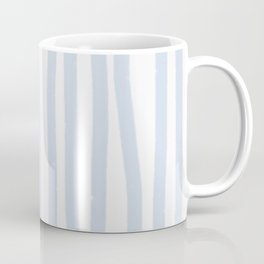 Light Blue Stripes Coffee Mug