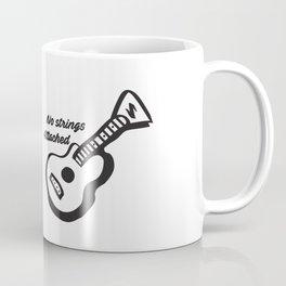 Guitar-No strings attached NSYNC Coffee Mug