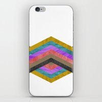 hexagon iPhone & iPod Skins featuring Hexagon by Kaamil Ajmeri