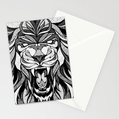 Angry Lion - Drawing Stationery Cards
