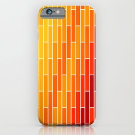 Shade of Red iPhone Case