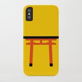 Torii (鳥居) (eastern portal) iPhone Case