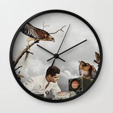third beat III Wall Clock