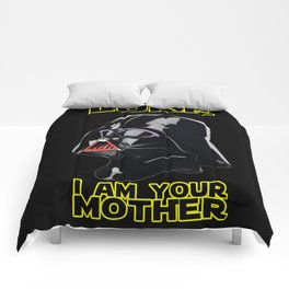 LUKE I AM YOUR MOTHER Comforters