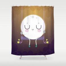 Little Moon Shower Curtain