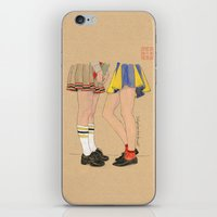 gossip girl iPhone & iPod Skins featuring Gossip Girls by Bryan James